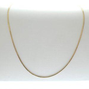 gouden ketting s-schakel
