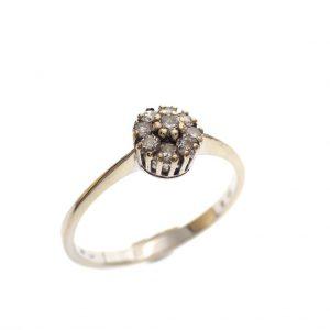 gouden dames ring 20,5