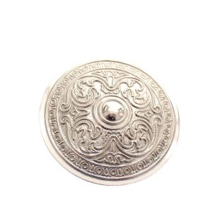 oosterse broche zilver