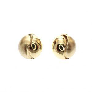 gouden oorclips