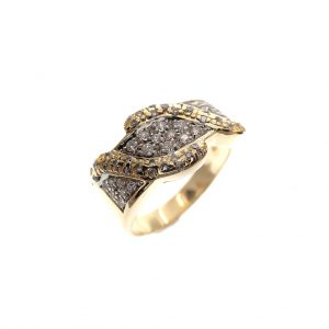 diamanten ring 18 karaat