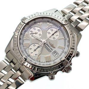 Stalen horloge Breitling Crosswind