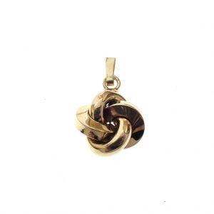 gouden ketting hanger zonder ketting