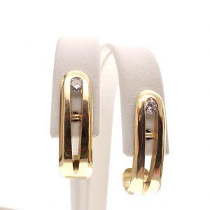 chique gouden oorbellen