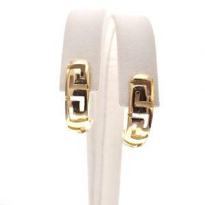 gouden versace oorbellen