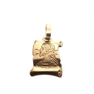 gouden hanger Jesus