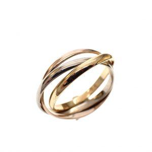 tricolour ring