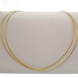 gouden omega ketting