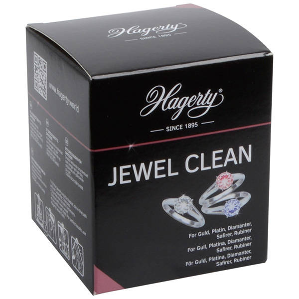 Hagerty jewel clean. Sieraden schoonmaken en onderhouden