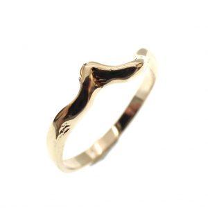 organische ring goud