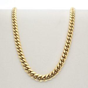 gouden heren ketting