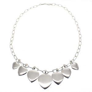 zilveren dames ketting