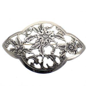vintage zilveren broche