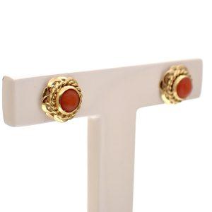 gouden antieke oorbellen