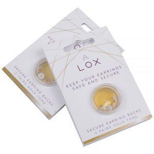 LOX, goudkleurige veiligheidsslotjes
