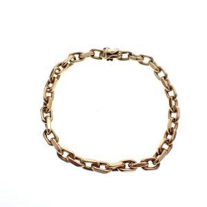 Armband met anker schakel