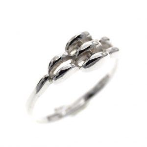 zilveren dames ring 14,5
