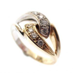 diamanten dames ring