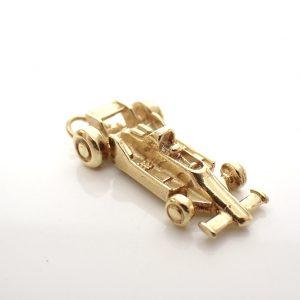 gouden auto kettinghanger