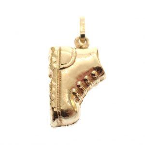 hanger schoen goud