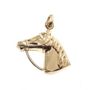 paarden bedeltje goud