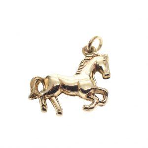 gouden paard hanger