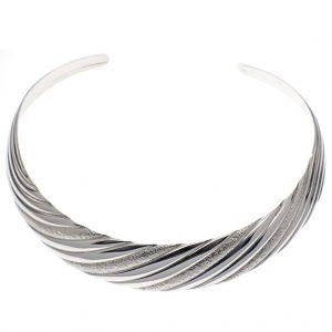 Afrikaanse ketting zilver