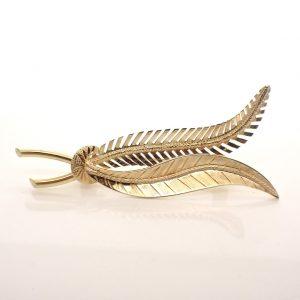 veren broche goud