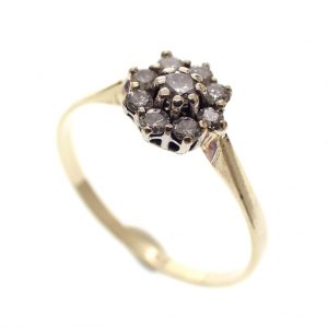 gouden dames ring 19,5