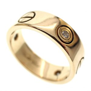 cartier ring goud