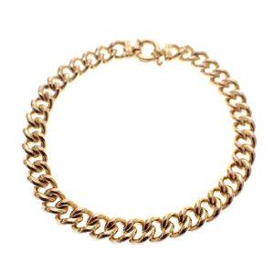 brede gouden armband heren