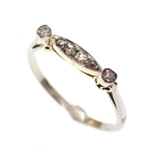 witgouden ring antiek