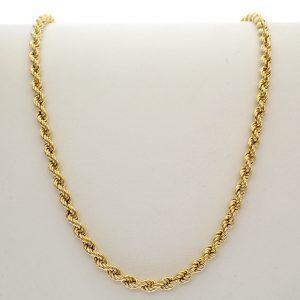 gouden cascade ketting