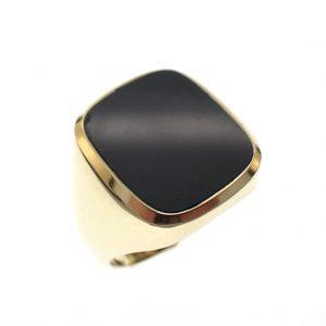 gouden ring heliotroop