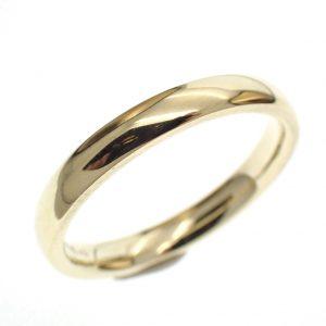 gouden trouw ring heren