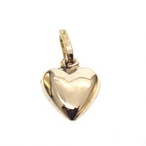 klein hartje goud hanger