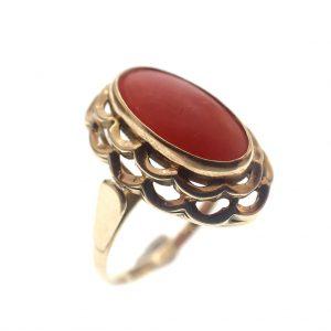 oude gouden dames ring