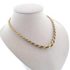 golden necklace woman