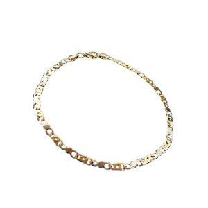 gouden armband haar