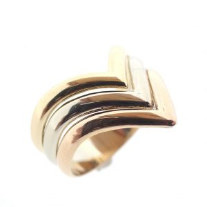 v-ring goud