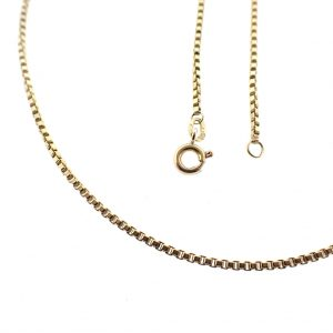gouden ketting voor hanger 18 k
