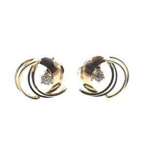 gemengd gouden oorstekers