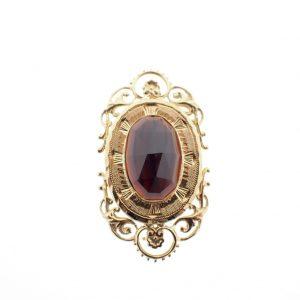 gouden victoriaanse broche