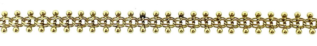 Galeriedraad schakel ketting en armband