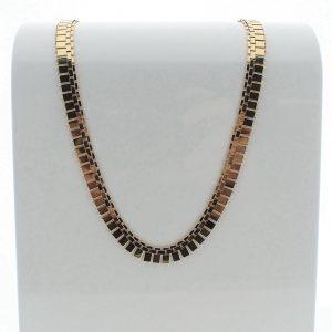 gouden dames collier 18 karaat