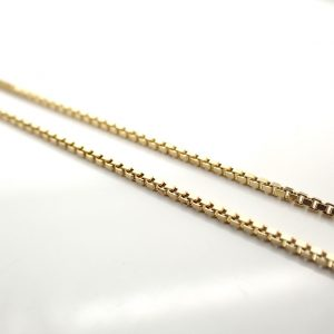gouden ketting voor hanger