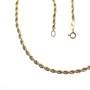 golden twisted necklace