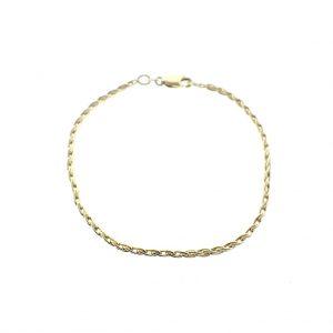 gouden franco armband