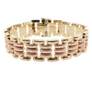 rosegouden armband