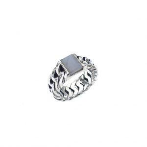 zilveren buddha to buddha ring